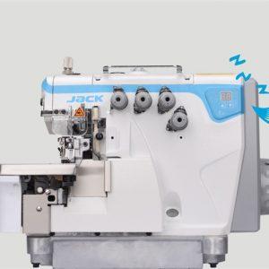 Máquina Overlock Industrial Semi Electrónica. Jack E4S – 4 (4 HILOS)