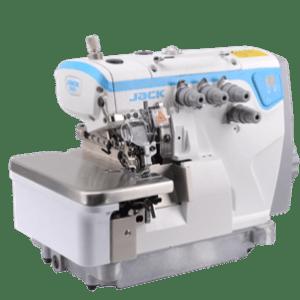 Máquina Overlock Electrónica. JACK E4  (4 ó 5 Hilos)