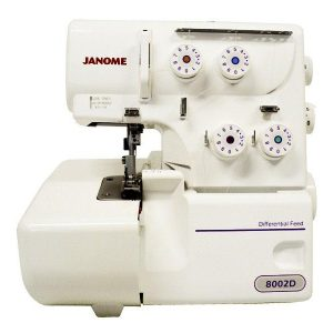 MÁQUINA DE COSER «JANOME 8002D»
