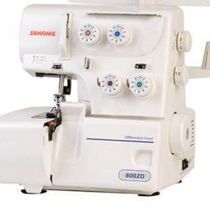 Maquina Doméstica  Overlock Janome 8002D