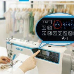 Máquina Industrial Recta Jack A4E Full Automática